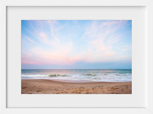 Cate Brown Photo Qeba Pastels  //  Seascape Photography Made to Order Ocean Fine Art