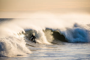 Cate Brown Photo Riley Sunset Surf #1  //  Surf Photography Made to Order Ocean Fine Art