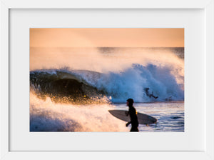 Cate Brown Photo Riley Sunset Surf #2 //  Surf Photography Made to Order Ocean Fine Art