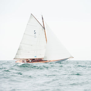 "Cate Brown Photo Sailing Open Seas Nautical // Framed Metal Print 10x10"" // MULTIPLE Available Available Inventory Ocean Fine Art"