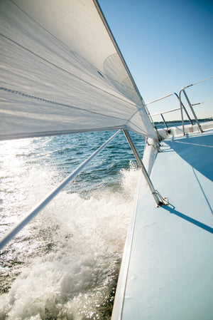 Cate Brown Photo Sailing in Newport  //  Nautical Photography Made to Order Ocean Fine Art