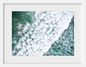 Cate Brown Photo Scarborough #8  //  Aerial Photography Made to Order Ocean Fine Art