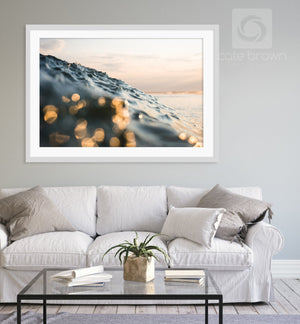 Cate Brown Photo Sea of Gold  //  Ocean Photography Made to Order Ocean Fine Art