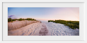Cate Brown Photo Second Beach at Dusk Panoramic  //  Landscape Photography Made to Order Ocean Fine Art
