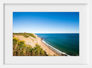 Southeast Light from the Bluffs  //  Landscape Photography