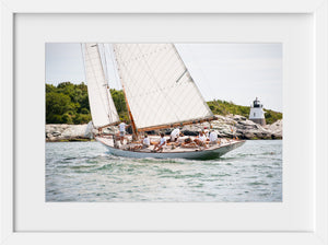 Cate Brown Photo Spartan at Castle Hill  //  Nautical Photography Made to Order Ocean Fine Art