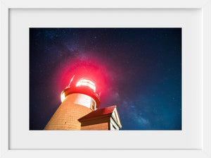 Stars over Brant Point Light  //  Landscape Photography