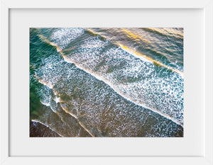 Cate Brown Photo Sunrise  //  Aerial Photography Made to Order Ocean Fine Art