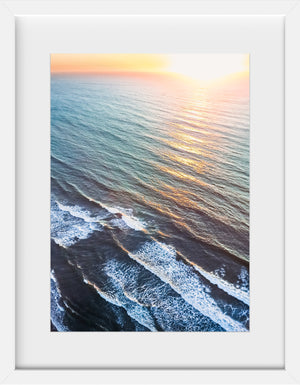 Cate Brown Photo Sunrise #2  //  Aerial Photography Made to Order Ocean Fine Art