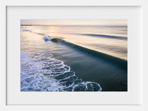 Cate Brown Photo Sunrise Surf  //  Aerial Photography Made to Order Ocean Fine Art