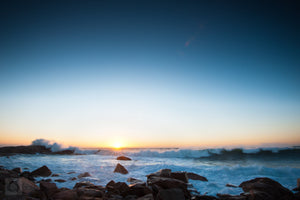 Sunrise Over Hazard Rock  //  Seascape Photography
