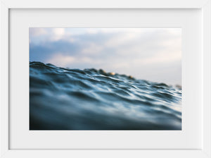 Sunset Textures  //  Ocean Photography