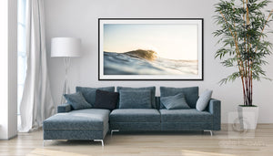 Cate Brown Photo Golden Hour at the Point  //  Ocean Photography Made to Order Ocean Fine Art