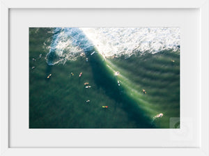 Surfing Jerry  //  Aerial Photography