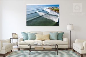Cate Brown Photo Point Judith #5  //  Aerial Photography Made to Order Ocean Fine Art