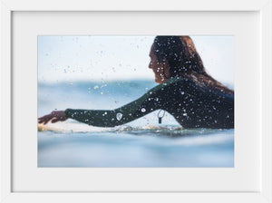 Cate Brown Photo Drops of Summer  //  Surf Photography Made to Order Ocean Fine Art
