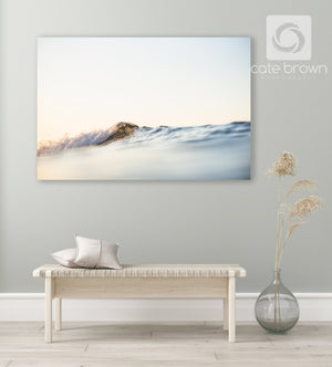 "Cate Brown Photo Canvas / 20""x30"" / None (Print Only) Summer Ripples  //  Ocean Photography Made to Order Ocean Fine Art"