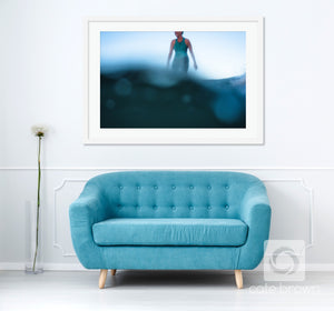 Cate Brown Photo Erin Underwater // Surf Photography Made to Order Ocean Fine Art