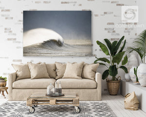 "Cate Brown Photo Metal / 16""x24"" / None (Print Only) Winter Magic  //  Seascape Photography Made to Order Ocean Fine Art"