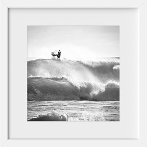 Cate Brown Photo Surfer #4 in Silver // Surf Photography Made to Order Ocean Fine Art