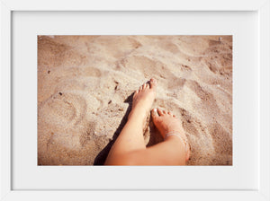 Cate Brown Photo Summer Sand  //  Film Photography Made to Order Ocean Fine Art
