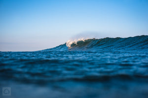 Trestles Left  //  Ocean Photography