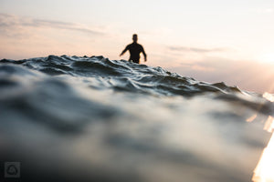Cate Brown Photo Unknown Surfing Chris #2 // Surf Photography Made to Order Ocean Fine Art