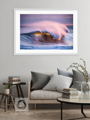 Cate Brown Photo Violet Violence  //  Ocean Photography Made to Order Ocean Fine Art