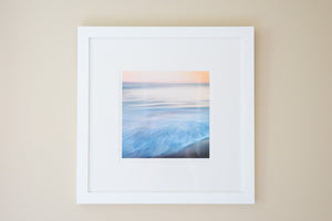 "Cate Brown Photo Mohegan Abstract #2 // Framed Fine Art 20x20"" // Limited Edition 1 of 100 Available Inventory Ocean Fine Art"