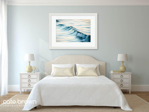 Cate Brown Photo Soft Water #9  //  Ocean Photography Made to Order Ocean Fine Art