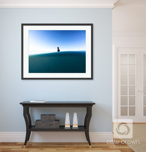 Cate Brown Photo Waiting for Waves // Surf Photography Made to Order Ocean Fine Art