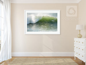 Cate Brown Photo Wave #12  //  Ocean Photography Made to Order Ocean Fine Art