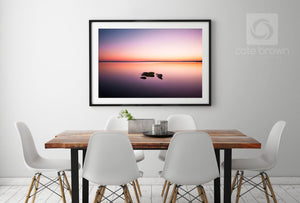 Cate Brown Photo Wickford Morning  //  Seascape Photography Made to Order Ocean Fine Art