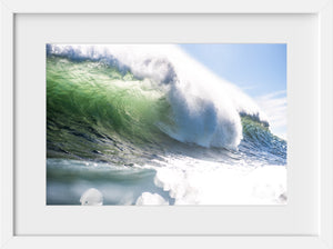 Cate Brown Photo Winter at the Point  //  Ocean Photography Made to Order Ocean Fine Art