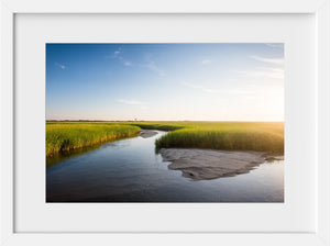 Wood End Light Across the Marsh  //  Landscape Photography