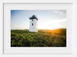 Wood End Light at Sunset #1  //  Landscape Photography