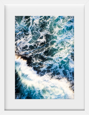 Cate Brown Photo Beavertail #5  //  Aerial Photography Made to Order Ocean Fine Art
