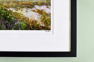 "Cate Brown Photo Wood End Light #3 // Framed Fine Art 17x21"" // Open Edition Available Inventory Ocean Fine Art"