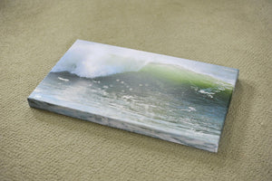 "Cate Brown Photo Wave #12 // Photo on Canvas 14x24"" // Limited Edition 1 of 20 Available Inventory Ocean Fine Art"