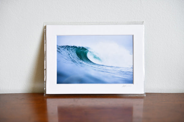 "Cate Brown Photo Irish #5 // Matted Mini Print 5x7"" Available Inventory Ocean Fine Art"