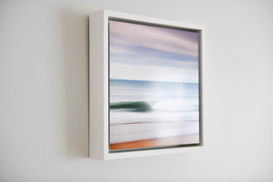 "Cate Brown Photo Abstracts // Framed Metal Print 10x10"" // MULTIPLE Available Available Inventory Ocean Fine Art"