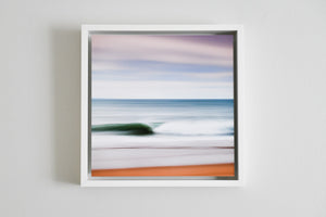 "Cate Brown Photo East Beach Abstract #3 Abstracts // Framed Metal Print 10x10"" // MULTIPLE Available Available Inventory Ocean Fine Art"