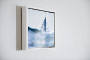 "Cate Brown Photo Nautical // Framed Metal Print 10x10"" // MULTIPLE Available Available Inventory Ocean Fine Art"