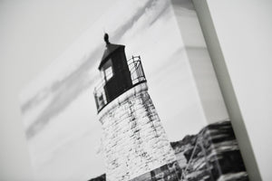 "Cate Brown Photo Castle Hill Light // Photo on Canvas 16x20"" // Limited Edition 1 of 20 Available Inventory Ocean Fine Art"