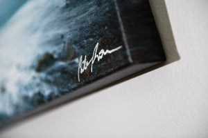 "Cate Brown Photo High Surf at Brenton Point #2 // Photo on Canvas 16x24"" // Limited Edition 1 of 20 Available Inventory Ocean Fine Art"