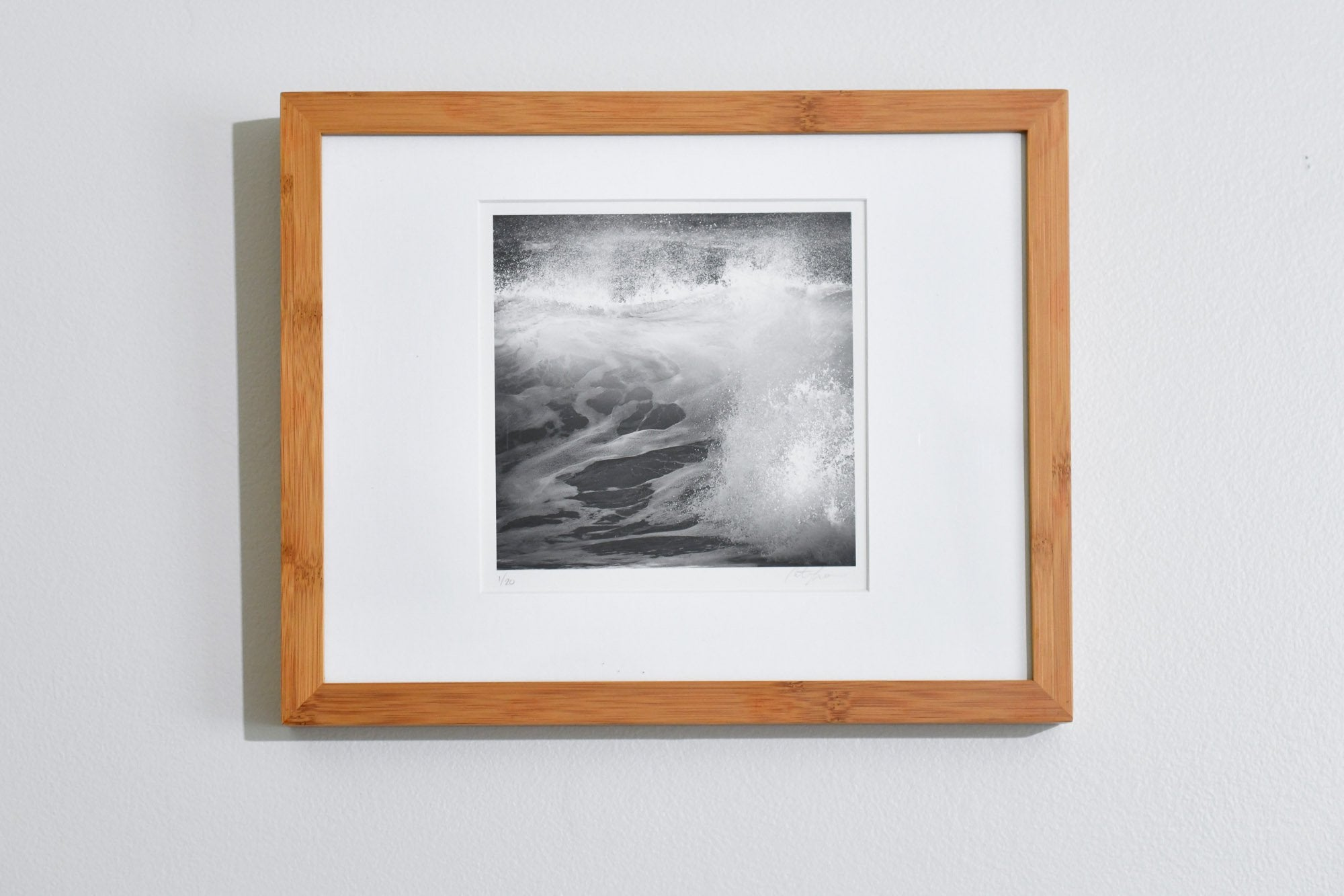 Cate Brown Photo Waves #2 // Framed Fine Art 11x14