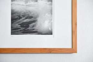 "Cate Brown Photo Waves #2 // Framed Fine Art 11x14"" // Limited Edition 1 of 20 Available Inventory Ocean Fine Art"
