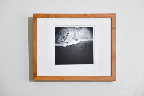 "Cate Brown Photo Foam Edge // Framed Fine Art 11x14"" // Limited Edition 1 of 20 Available Inventory Ocean Fine Art"