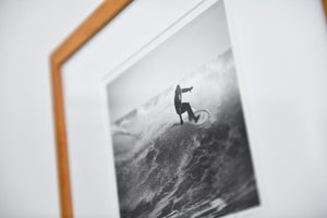 "Cate Brown Photo Surfer #3 // Framed Fine Art 11x14"" // Limited Edition 1 of 20 Available Inventory Ocean Fine Art"