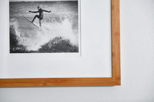"Cate Brown Photo Surfer #2 // Framed Fine Art 11x14"" // Limited Edition 1 of 20 Available Inventory Ocean Fine Art"